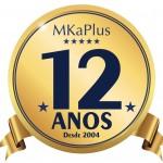 Selo MKAPLUS 12 ANOS